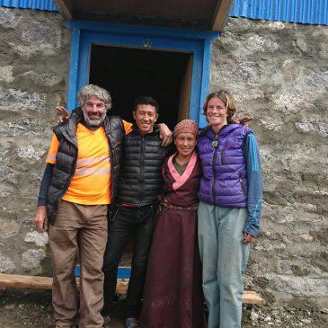 Film de la construction printemps 2017 au Langtang