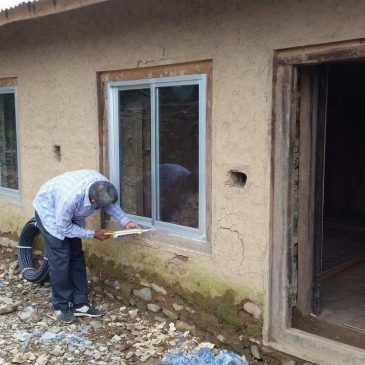 La reconstruction de l'école a démarré !
