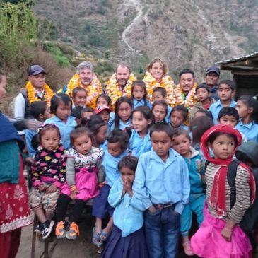 4 novembre 2018 – Visite d'une école dans le district de Dolhaka