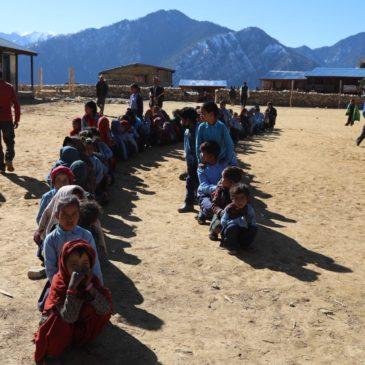 Décembre 2019 – Aide dans l'ouest du Népal