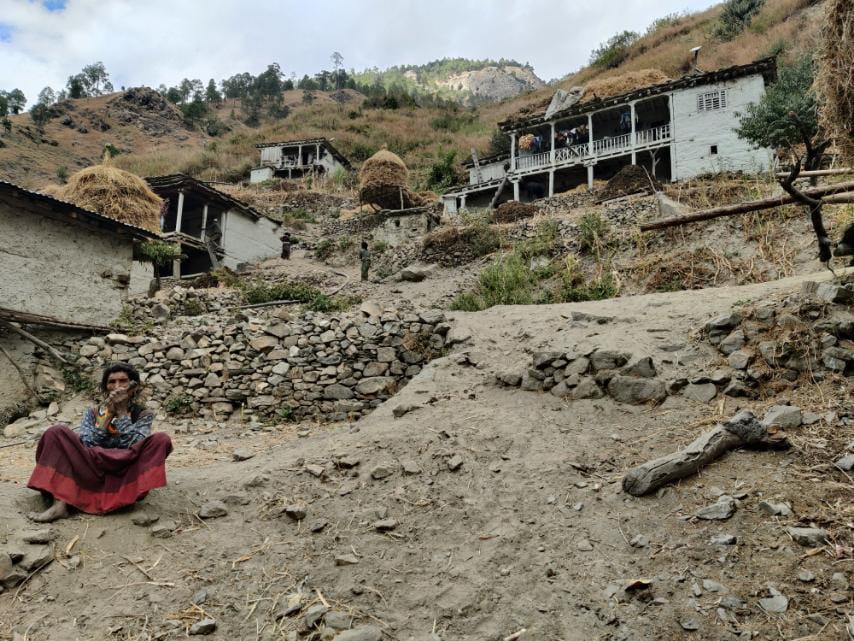 Aide ouest Népal - Novembre 2020