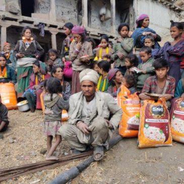 Aide à l'Ouest du Népal